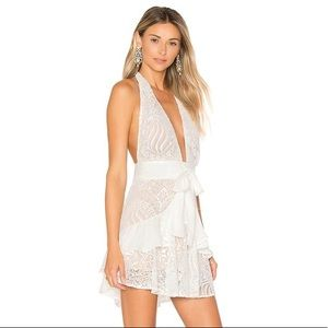For Love & Lemons Lily Lace Mini Dress